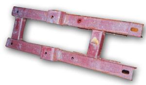 Рама горизонтального редуктора ТСН-02.020