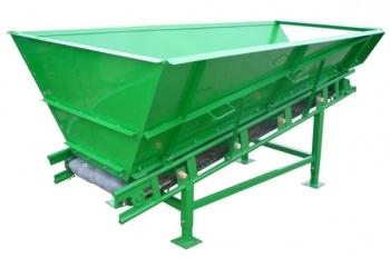 Транспортер 650Цх2500 с приемным бункером 1,5 куб.м.